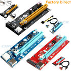 USB 3.0 Pcie PCI-E Express 1x To 16x Extender Riser Card Adapter Power BTC Cable $5.89 USD