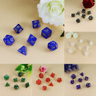 Creative 7pcs/set 20-Sided Digital Game Dice Fun Role Playing Games Toys