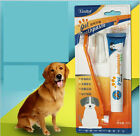 Dog Puppy Dental Hygiene Set with Toothbrush&Mint Toothpaste