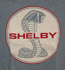 "MENS LICENSED CAR COLLECTOR ""SHELBY COBRA"" GRAPHIC SHIRT TSHIRT (blue)"