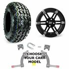 "Club Car Jake's 6"" Golf Cart Lift Kit, 23"" Tire, and 14"" Barracuda Wheel Combo"