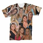 Mariah Carey Photo Collage T-Shirt