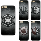 Star Wars Logo Plastic Hard Phone Case Cover Fits For iPhone / Touch / Samsung