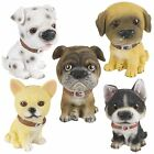 Detailed Puppy Pet Dog Resin Ornament Figurine Model Statue Gift Collectable NEW