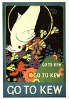 Vintage 1915 Kew Gardens Promotional Poster A3/A2/A1 Print
