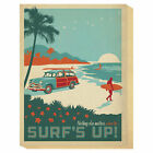 Global Gallery 'Surf's Up' by Anderson Design Group Graphic Art Print on Canvas