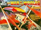 Vintage War Of The Worlds Movie  Poster  A3/A2/A1 Print