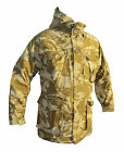 Desert/Sand Camo WINDPROOF SMOCK/JACKET With Hood - British/Army/Military Medium