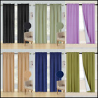 Внешний вид -  2 PANELS ROD POCKET FOAM LINED THERMAL BLACKOUT WINDOW DRESSING CURTAIN R64