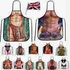 Sexy Novelty Funny Chef Apron Naked Men Wome BBQ Party Aprons Gift One Size UK