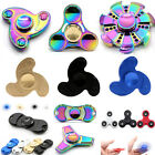 UK EDC Hand Focus Finger Spinner Fidget Bearing Toy Gift - Decompression Rainbow
