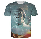 New Fashion Womens/Mens Live Long and Prosper Funny 3D Print Casual T-Shirt