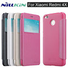 "For Xiaomi Redmi 4X 4 X 5"" Nillkin Sparkle PU Leather Flip Case Cover Bag Shell"