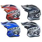 Wulfsport Tri Action Off Road Motorcycle Trials MX Enduro Bike Open Face Helmet