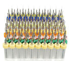 10Pcs 0.1 to1.04mm PCB CNC Print Circuit Board Carbide Micro Drill Bits Set Tool