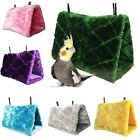 Plush Bird Parrot Snuggle Hammock Cage Happy Hut Tent Bed Bunk Toy Hanging Cave