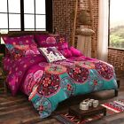 Oriental Mandala Duvet/Quilt/Doona Cover Set Queen/King Single All Size Bohemian