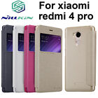 For Xiaomi Redmi 4 Pro /Prime Sparkle PU Leather View Window Flip Case Cover Bag