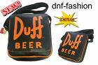 THE SIMPSONS DUFF BEER borsa tracolla verticale ecopelle 3800155346636