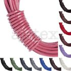 10M Leather Cord Wire Thread Thong Jewelry Making Necklace Bracelet 1.5x1.5mm