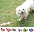 New Small Dog Pet Puppy Cat Adjustable Nylon Harness Lead leash Traction Rope