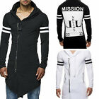 Men's hooded coat Male Long-sleeve T-shirt  Printed hooded T-shirt WB