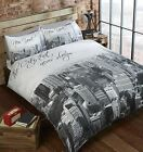 The City That Never Sleeps New York Big Apple Teenager Bedding Quilt Duvet Set