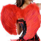 Angel Feather Wings Cosplay Halloween Fancy Dress Costume event for Kids Adults