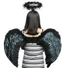 Angel Feather Wings Cosplay Christmas Fancy Dress Costume Event for Kids Adults