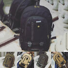 Men's Retro Canvas Backpack Rucksack Laptop Shoulder Travel Hiking Camping Bag