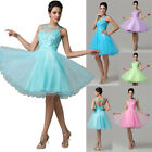 Mini Tulle Formal Prom Dresses Cocktail Ball Gown Evening Party Homecoming Dress