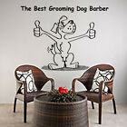Dog Wall Decals Grooming Salon Art Decal Vinyl Dog Stickers Pet Shop Decor MN482