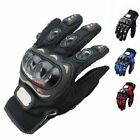Motorcycle Racing Gloves Cycling Full Finger Breathable Mesh Fabric Red New