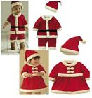 Внешний вид - NWT baby toddler girl boy Santa holiday Christmas dress outfit set PICK