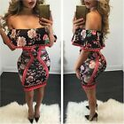 Summer Women's Bandage Bodycon Sleeveless Evening Party Cocktail Club Mini Dress