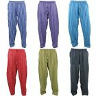 Nepalese Cotton Trousers Pants Striped Gringo Loose Light Hippy Elastic Baggy