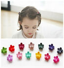 10Pcs Mini Mixed Hair clips Kids Sweet Flower Hair Claws Clips Clamps Hairpin