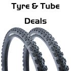 "Vandorm Storm 24"" x 1.95"" or 2.10"" MTB Bike Tyre Pairs & Inner Tube DEAL OPTIONS"