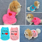 Small Pet Dog Summer Apparel Vest Puppy Cat Coat Clothes T-shirt Summer Tops New