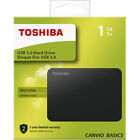HARD DISK ESTERNO 2,5 500GB  1TB  2TB  3TB TOSHIBA USB 3.0 WINDOWS 10 / MAC OS