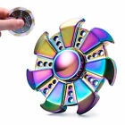 Other Games - Tri Fidget Hand Spinner Triangle Brass Metal Rainbow Finger Toy EDC Focus ADHD