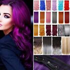 Mega Color Extra Thick As Remy One Piece 3/4 Full Head Clip in Hair Extensions F