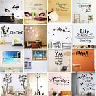 Art - Vinyl Home Room Decor Art Quote Wall Decal Stickers Bedroom Removable Mural DIY