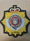 Royal Logistic Corps Large Embroidered Biker Patch