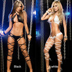 Women's Lingerie Underwear Babydoll Sleepwear G-string Nightwear Set Clubwear US