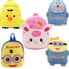 Toddler Kid Child Girl Cartoon Animal Plush Backpack Schoolbag Kindergarten Toys