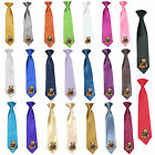 23 Color Stain Solid Clip-on Nautical Bear Necktie Boys Formal Suits Newborn - 7