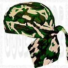 SweatBand Head Wrap Skull Cap Paisley Doo Rag Du Hat Deal Biker Do Bandana