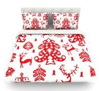 Frosted Landscape by Miranda Mol Holiday Featherweight Duvet Cover $226.69 USD