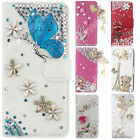 Luxury Bling Diamond Flip Leather Wallet Stand Soft Case Cover For Leagoo M5 M8